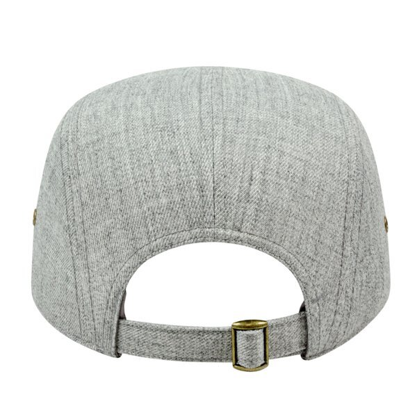 Classic Style Flat Bill Unconstructed Cap