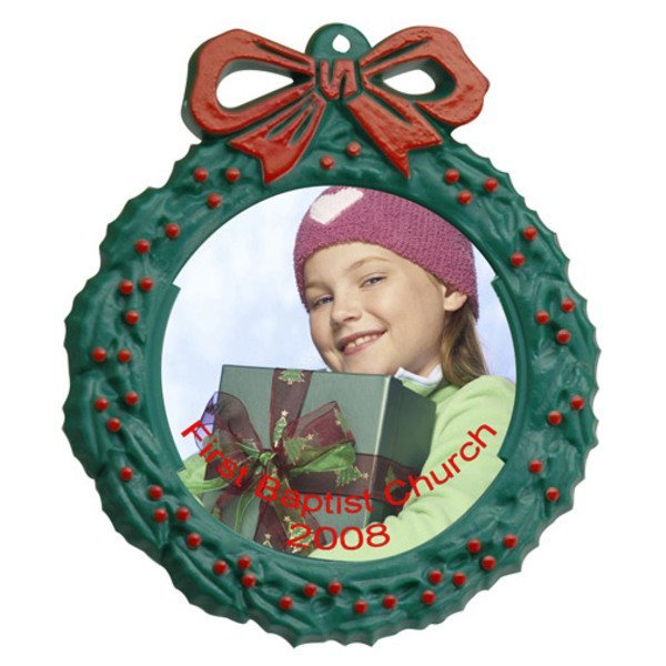 """Snap-In Photo Wreath, 5"""""""