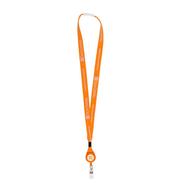 Lanyard Retractable Badgeholder, 5/8""