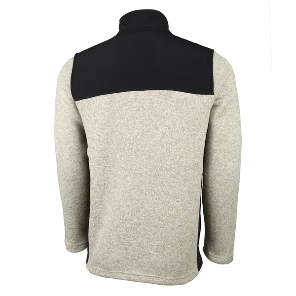 Charles River® Concord Men's Heather Fleece with Contrast Yoke