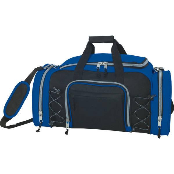 "Getaway Sporty Heavy-Duty Nylon Duffel Bag, 23"""