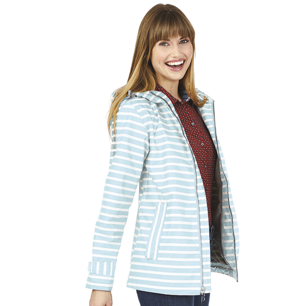 Charles River® New Englander Ladies' Printed Rain Jacket