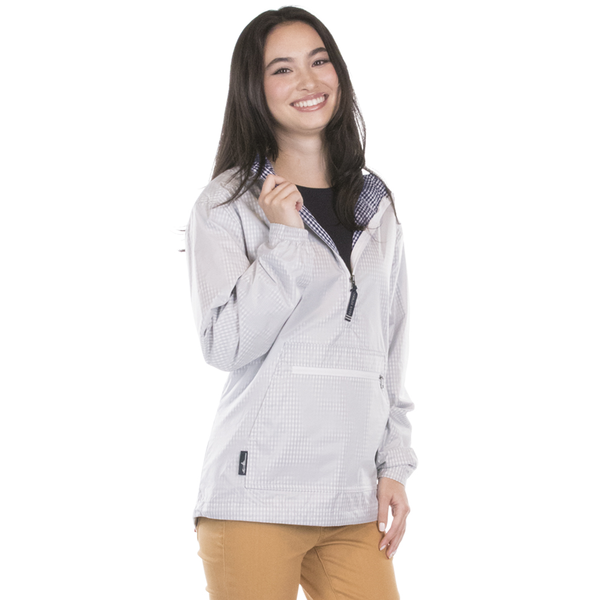 Charles River® Hyannis Port Ladies'  Quarter Zip Pullover Anorak