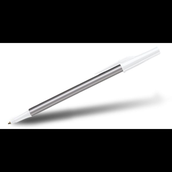 Paper Mate® WriteBros® Stick Pen- Silver Barrel