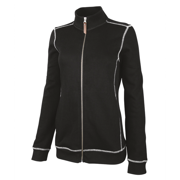 Charles River® Conway Ladies' Flatback Rib Jacket