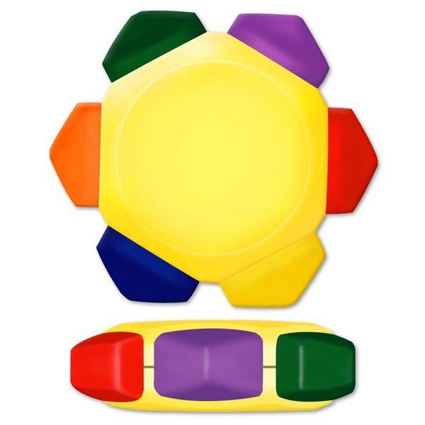 Crayo-Craze® 6-Color Crayon Wheel