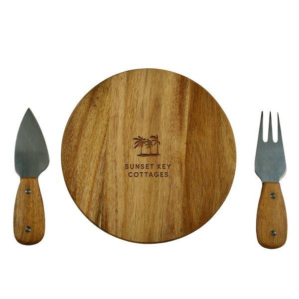 Acacia Bristol Cheese Board Set
