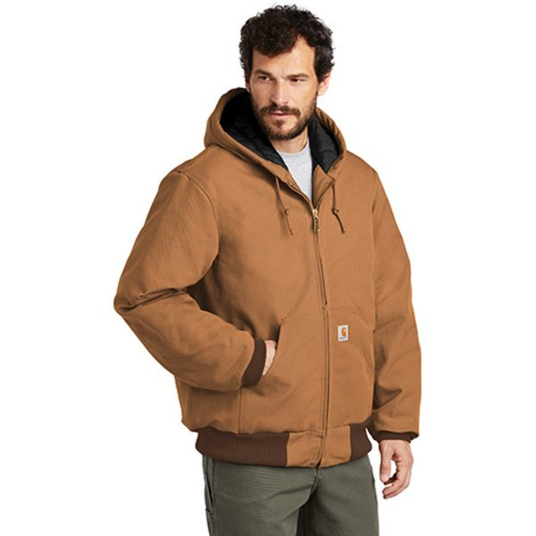Carhartt® Quilted Flannel-Lined Duck Active Jacket