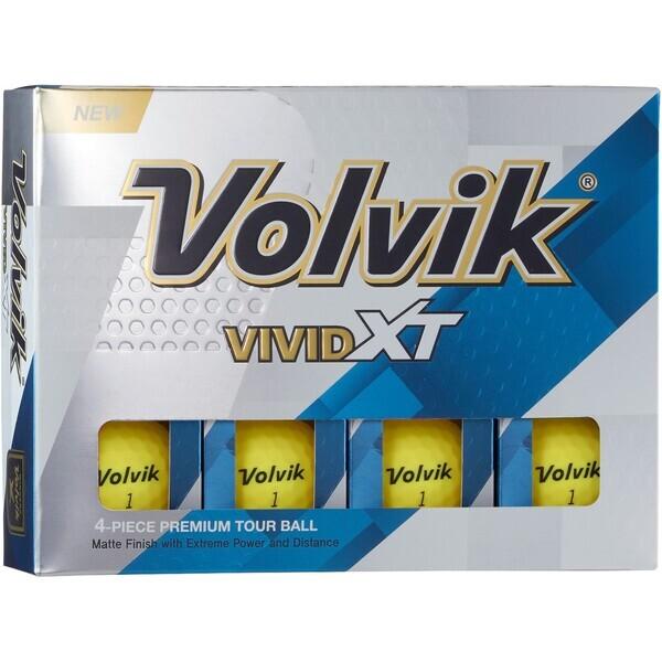 Volvik® Vivid Extreme-Matte, 12 Ball Box