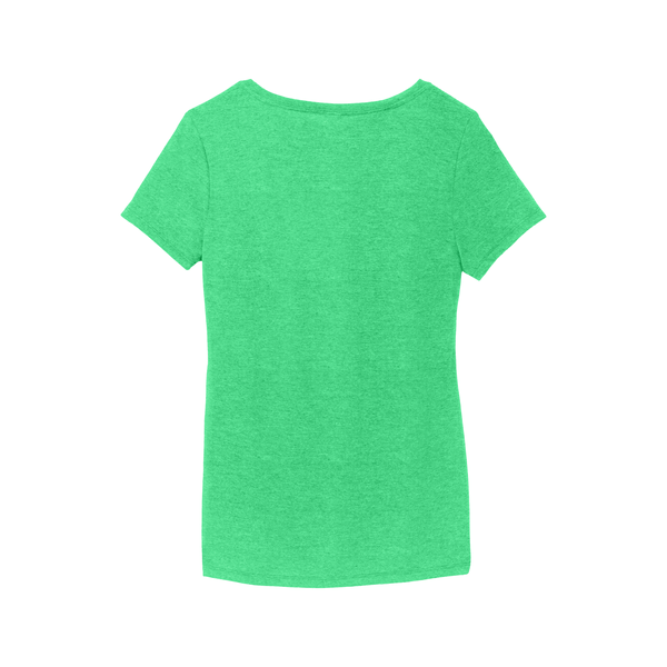 District® Perfect Tri® Ladies' Triblend V-Neck Tee