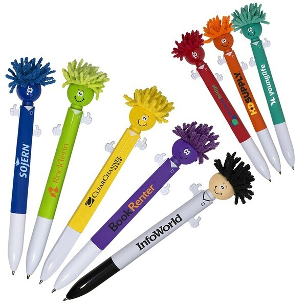 MopToppers® Screen Cleaner Two-Color Ink Pen