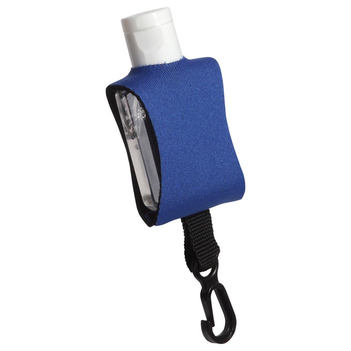 Cozy Clip Hand Sanitizer in Neoprene Sleeve, .5oz.