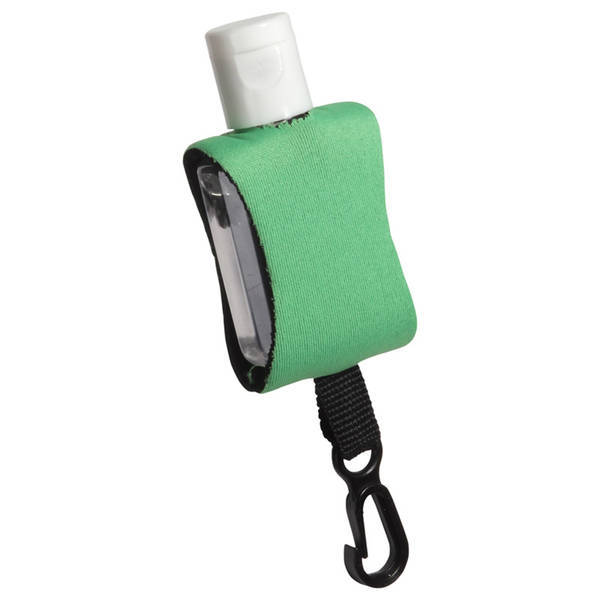 Cozy Clip Hand Sanitizer in Neoprene Sleeve, .5oz.