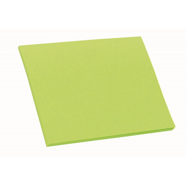 """BIC® Bright Colored Paper Adhesive 100 Sheet Notepad, 4"""" x 3"""""""