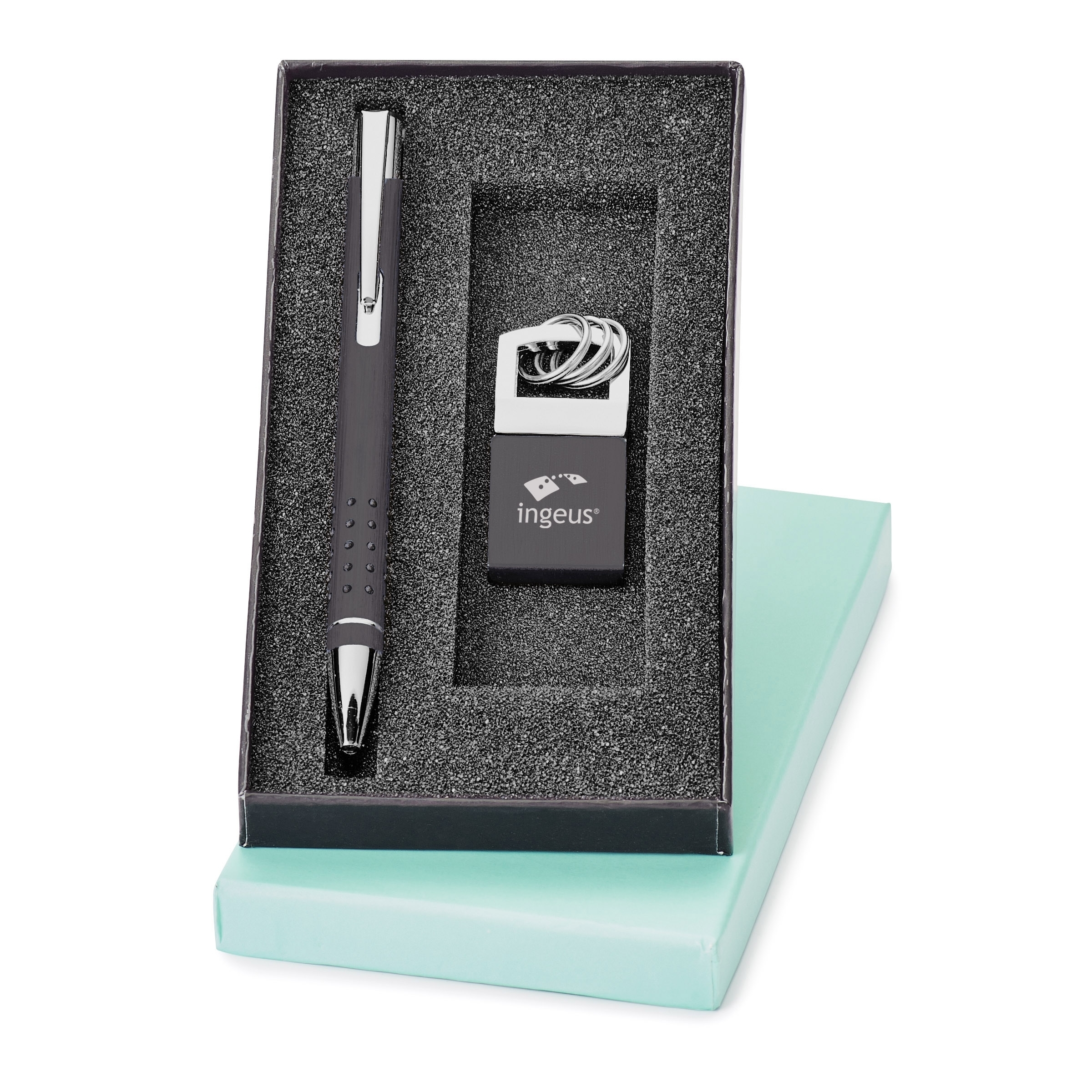 Dempsey Pen & Key Ring Gift Set