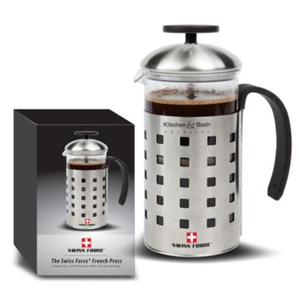 Swiss Force® French Press, 20oz.