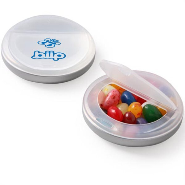 Gourmet Jelly Beans Snap Top Candy Case