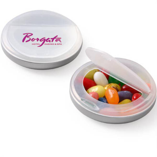 Jelly Belly's® Snap Top Candy Case