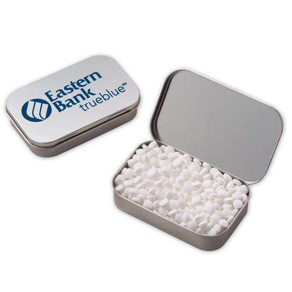 Mini Sugar-Free Peppermints in a Tin, Large