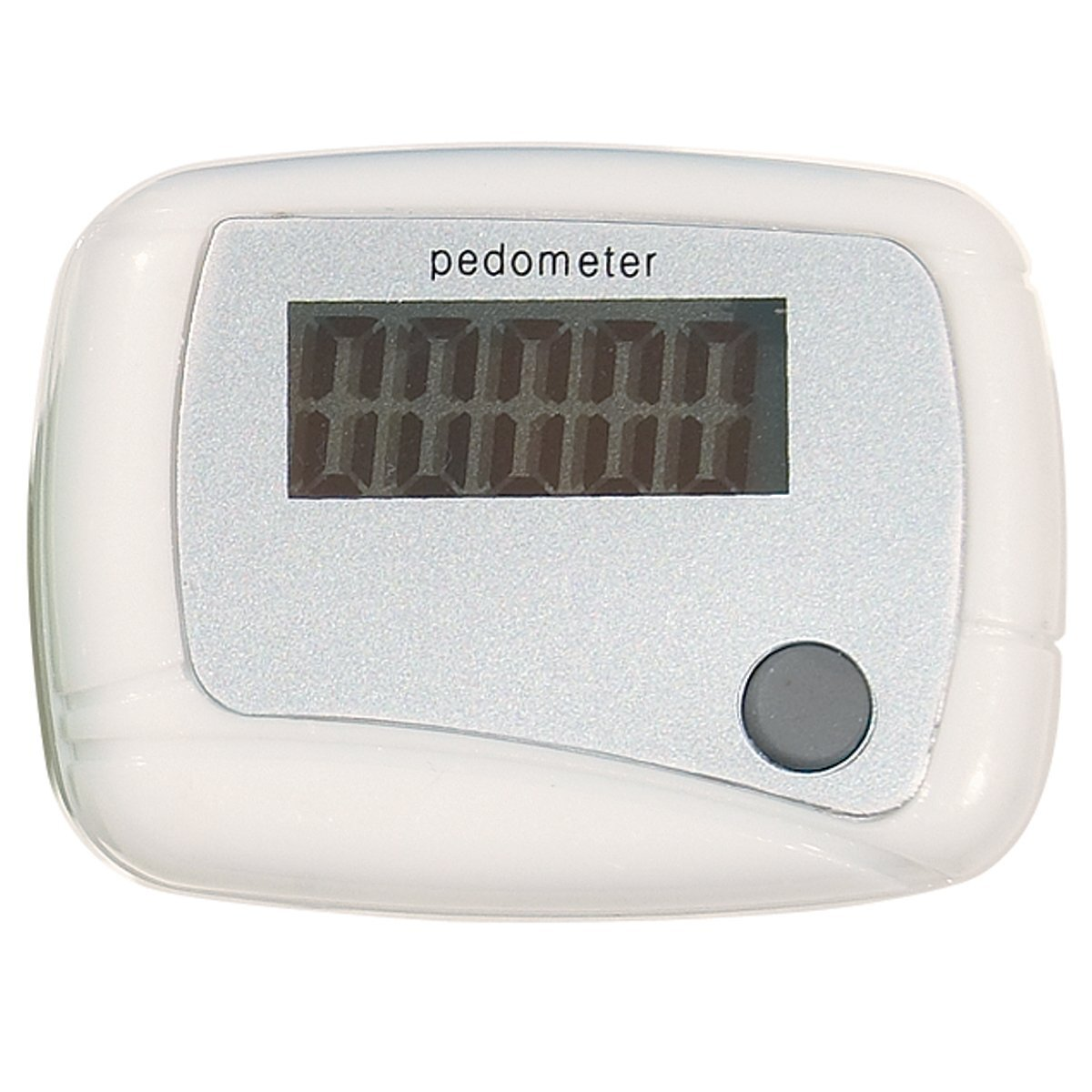 Translucent Single Function Step Counter Pedometer
