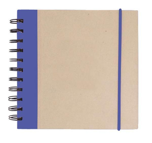 "Kraft Notepad w/ Pen, 6"" x 6"""