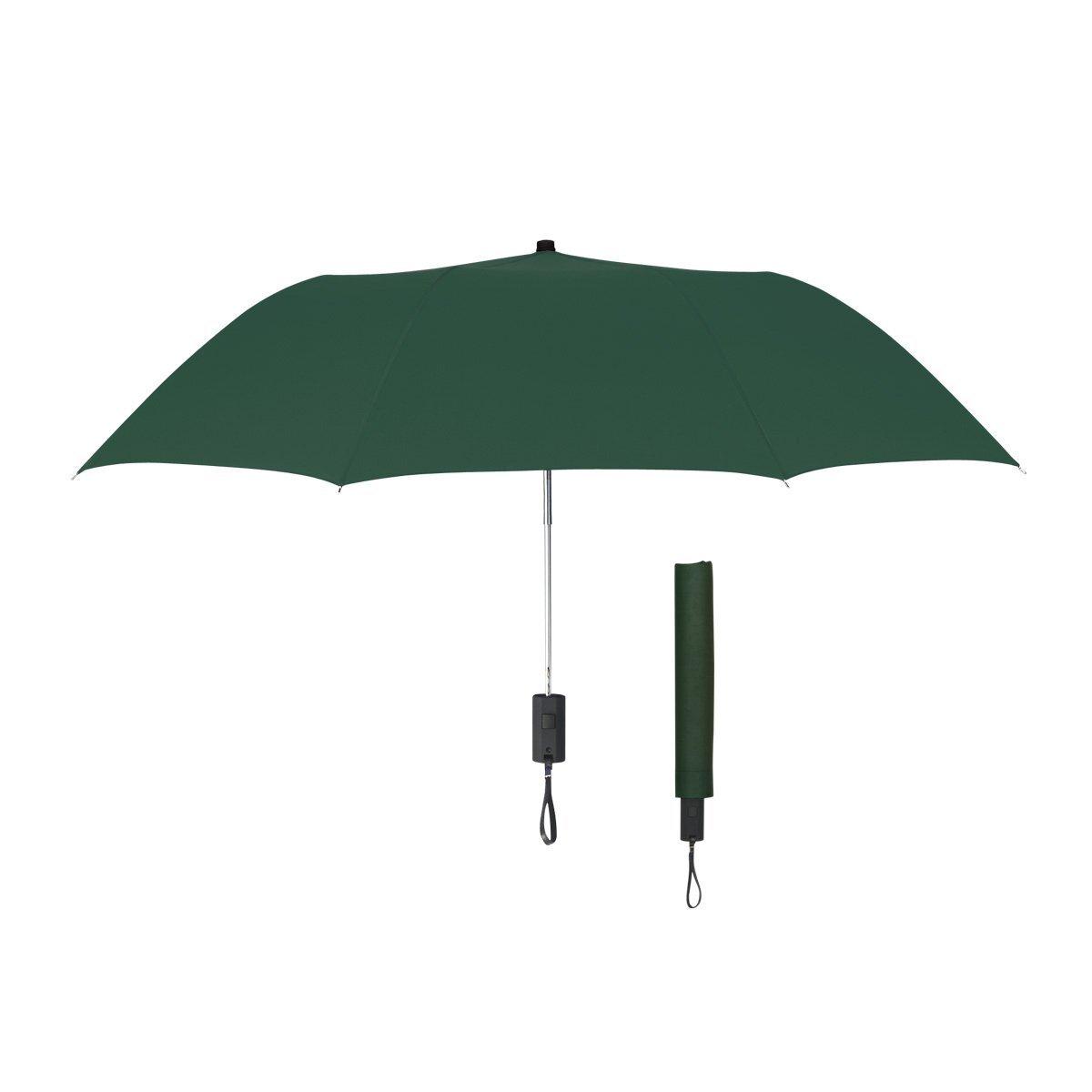 "Auto-Open Folding Umbrella, 44"" Arc"