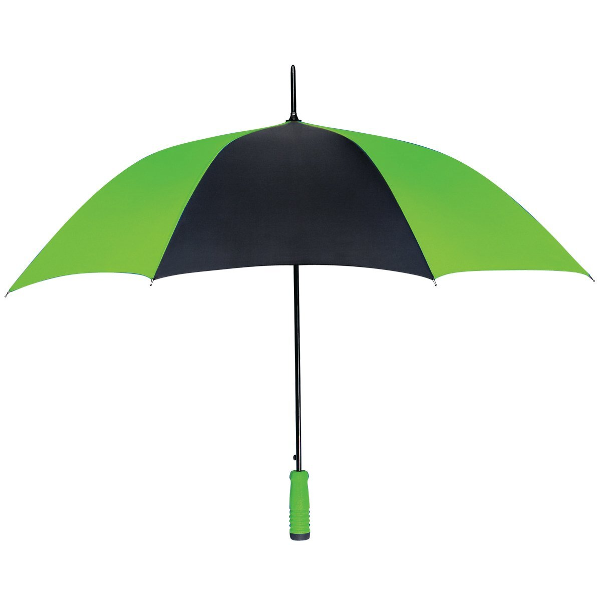 "Automatic Open Two-Tone Umbrella, 46"" Arc"