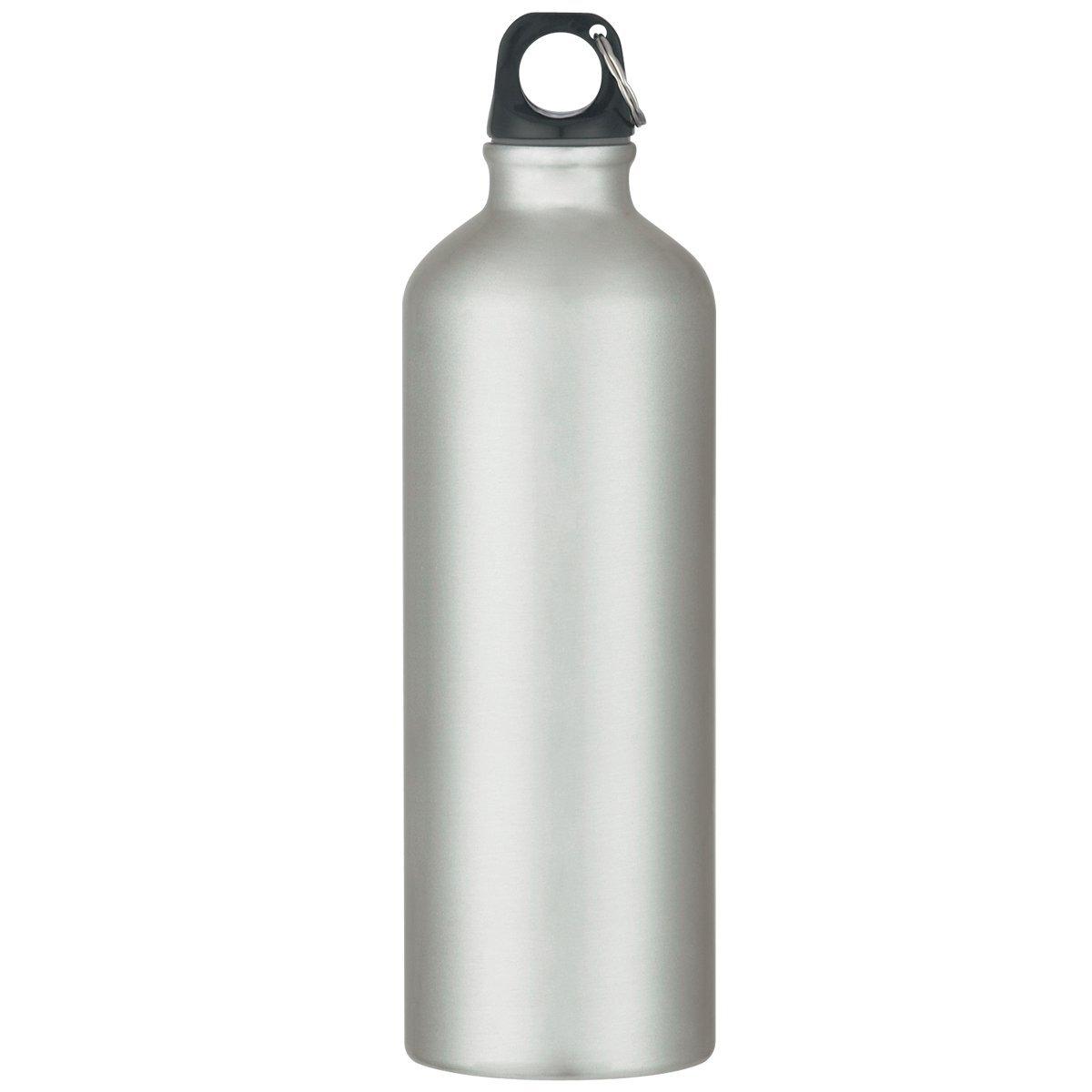 Aluminum Metallic Bike Bottle, 25oz.