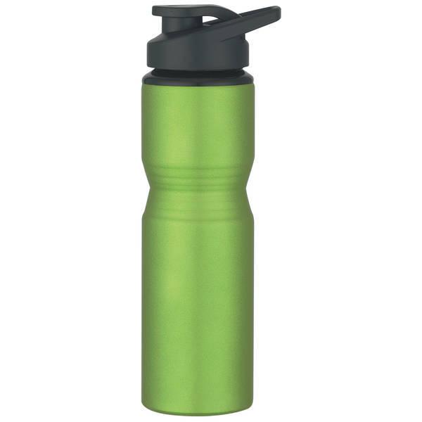 Aluminum Metallic Bike Bottle, 28oz.