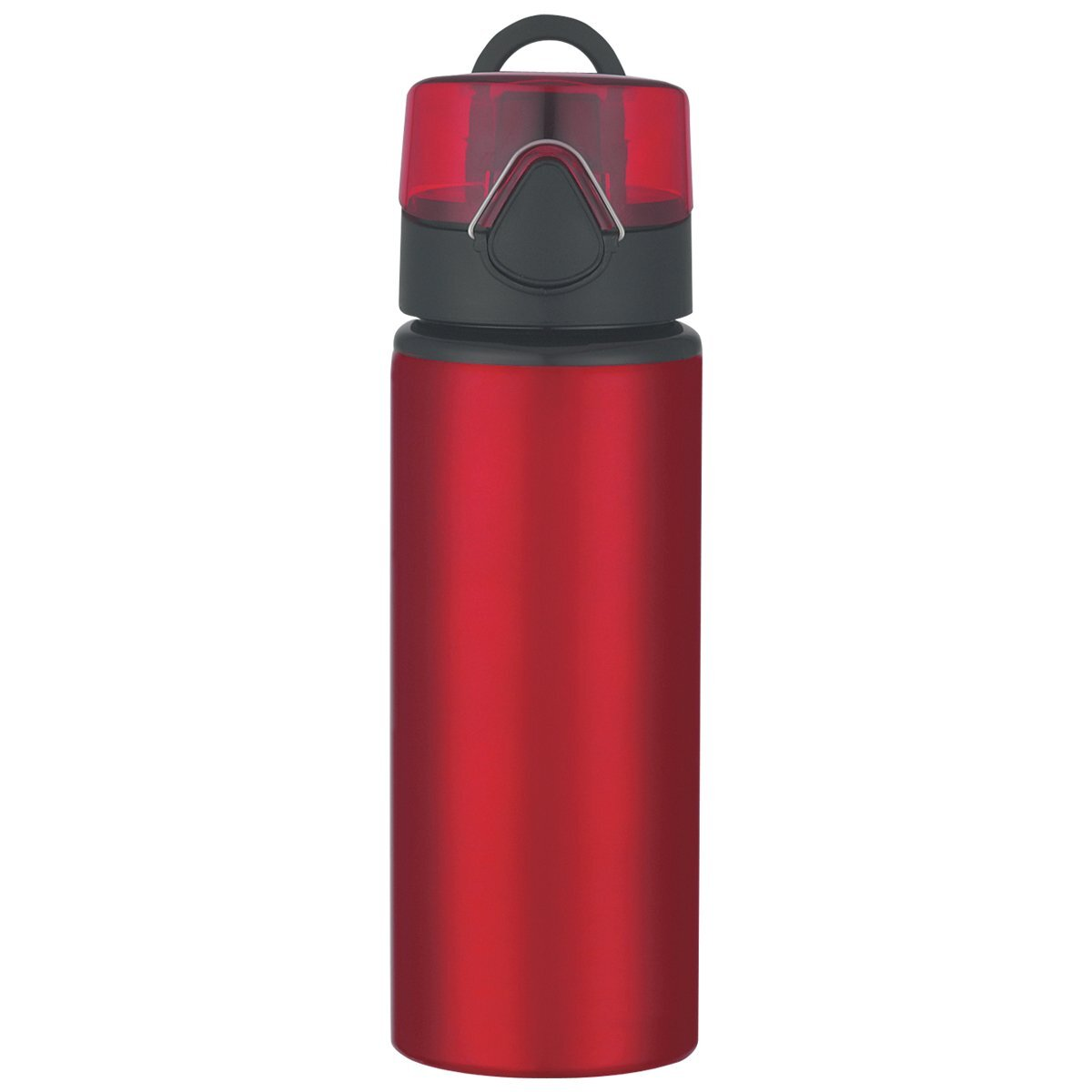 Aluminum Sports Bottle With Pop-Up Lid, 25oz.