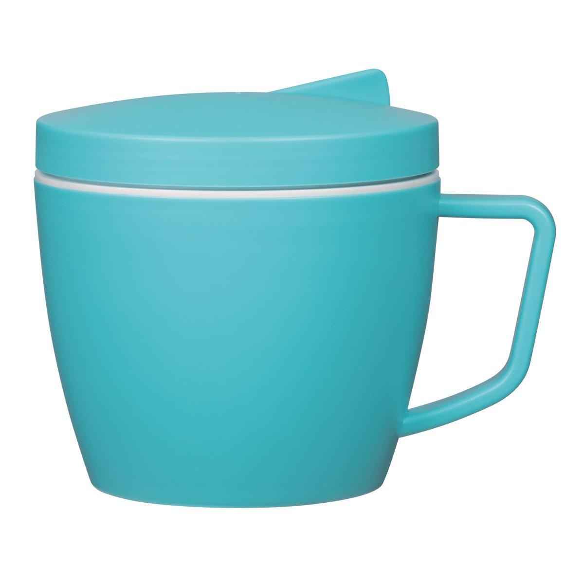 Thermal Mug w/ Spoon & Fork Set, 14 oz.