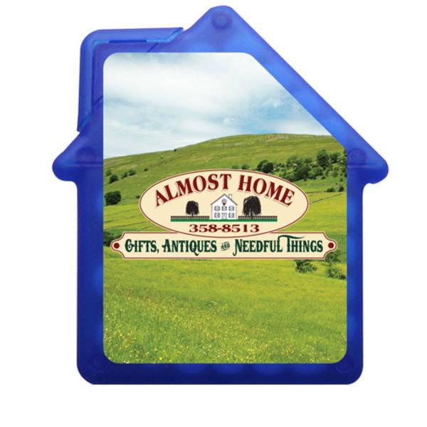 House Shaped Credit Card Sugar Free Mints