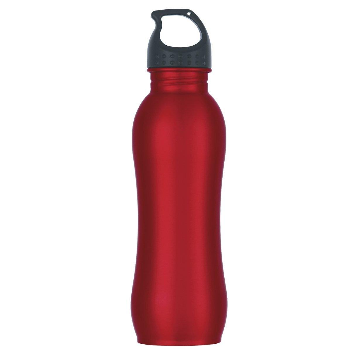 Stainless Steel Grip Bottle, 25oz., BPA Free
