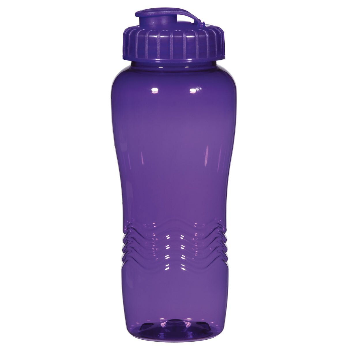 Ripple Grip Fitness Bottle with Super Sipper Lid, 26oz.