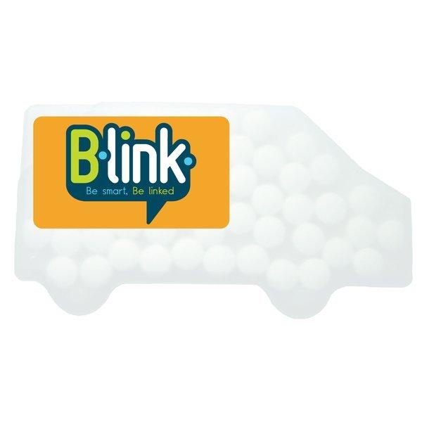 Truck Shaped Credit Card Sugar Free Mints