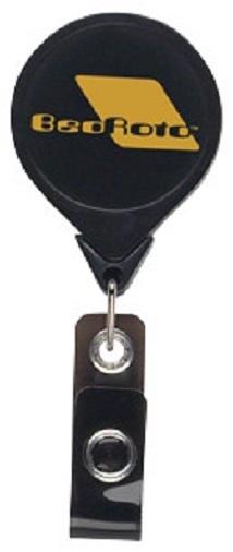 Jumbo Round Retractable Badgeholder, Aligator Clip