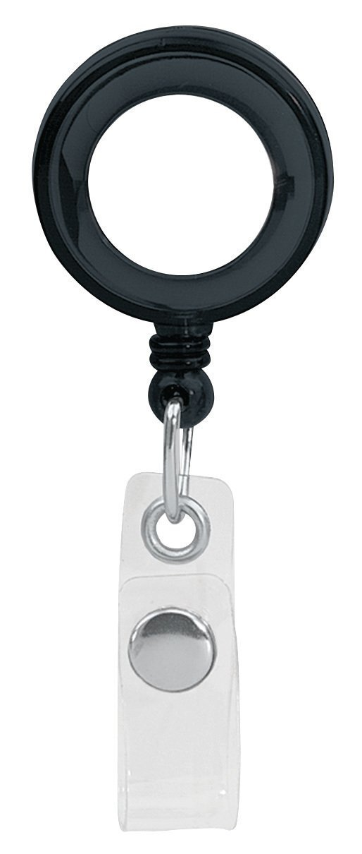 Retractable Badgeholder, Alligator Clip