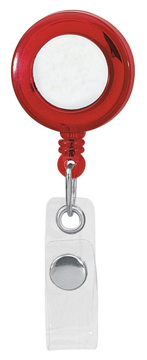 Classic Round Retractable Badgeholder