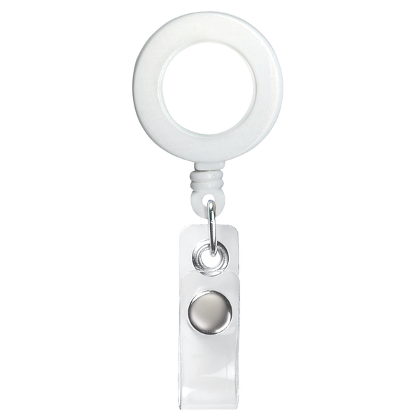Classic Round Retractable Badgeholder