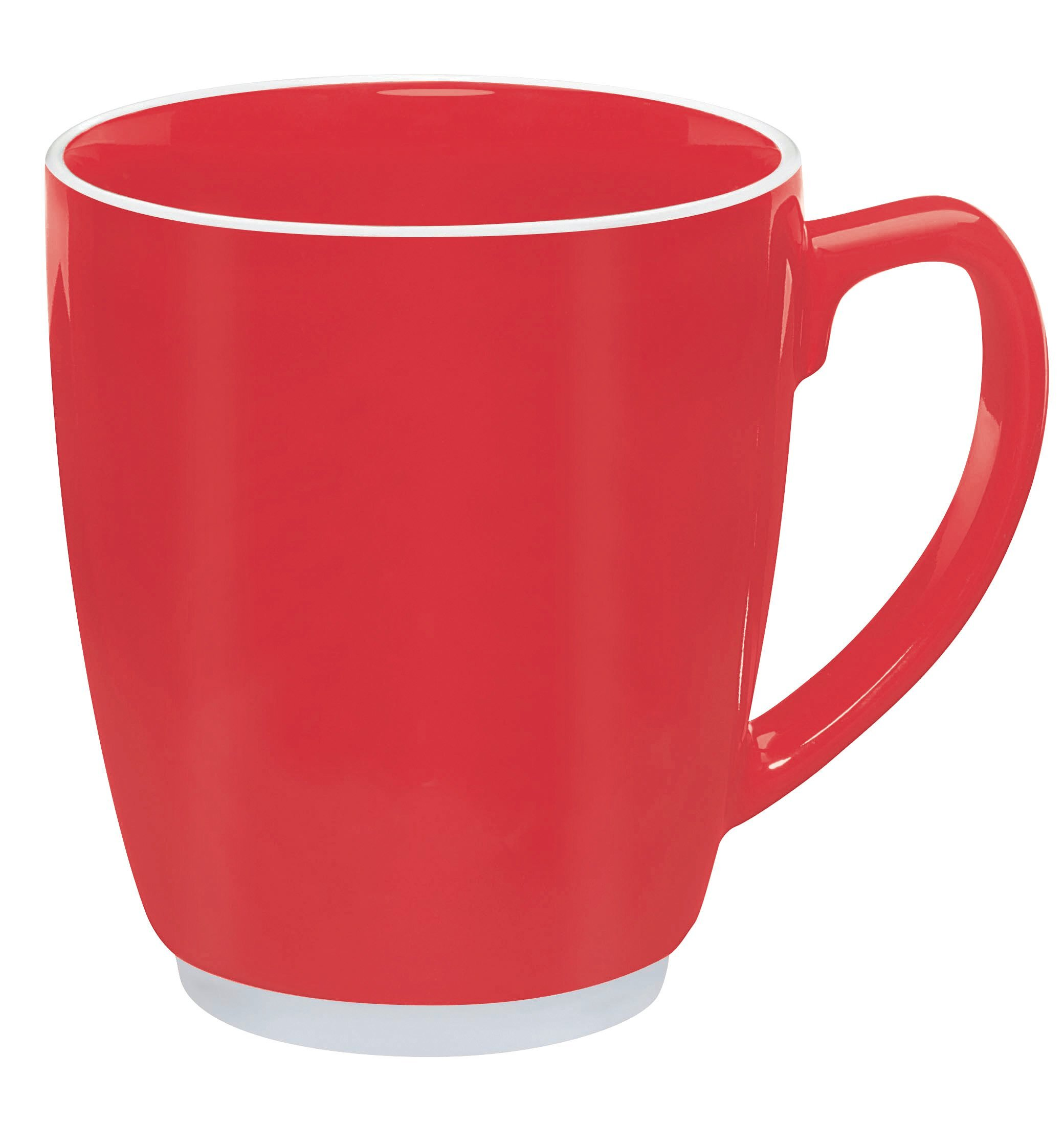 Big Mack Ceramic Mug, 20oz. - Red & Orange