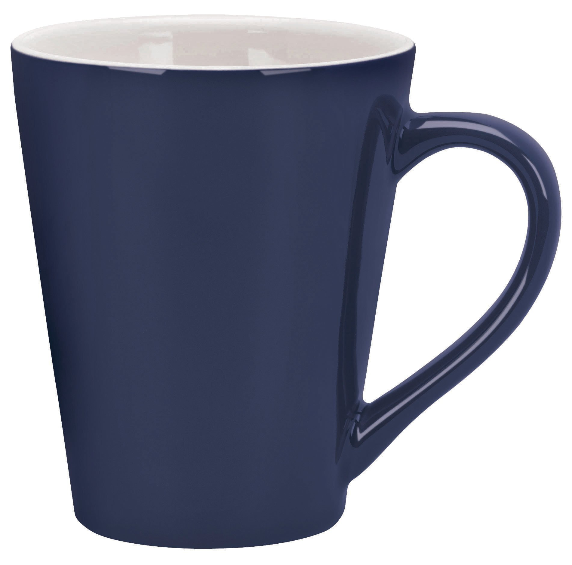 Designer Two Tone Ceramic Mug, 13oz.