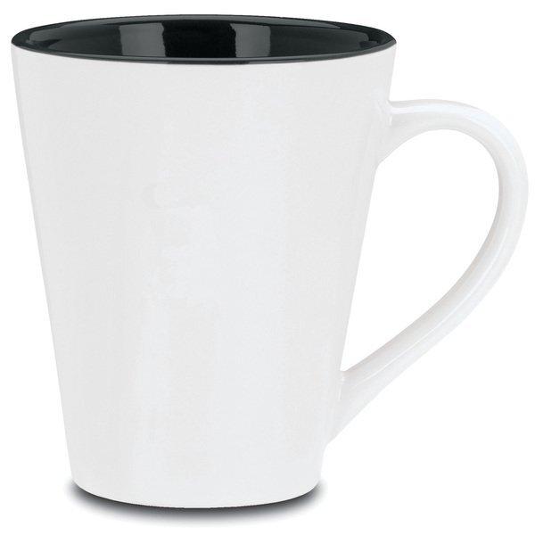 Designer Two Tone Ceramic Mug, 13oz.