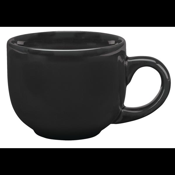 Glossy Ceramic Latte Mug, 16oz.