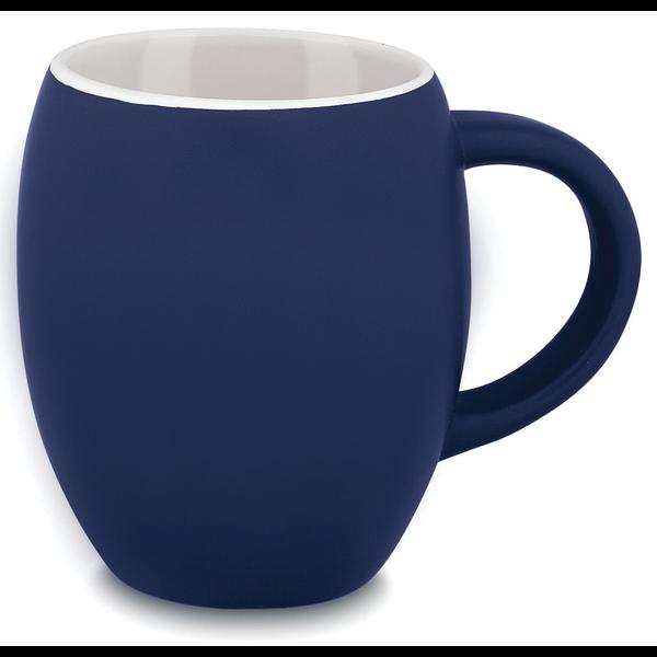 Matte Barrel Ceramic Mug, 16oz.