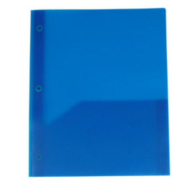 Three Prong Twin Pocket Poly Presentation Folder