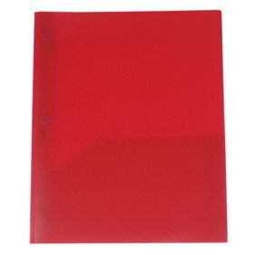 Three Prong Twin Pocket Poly Presentation Folder