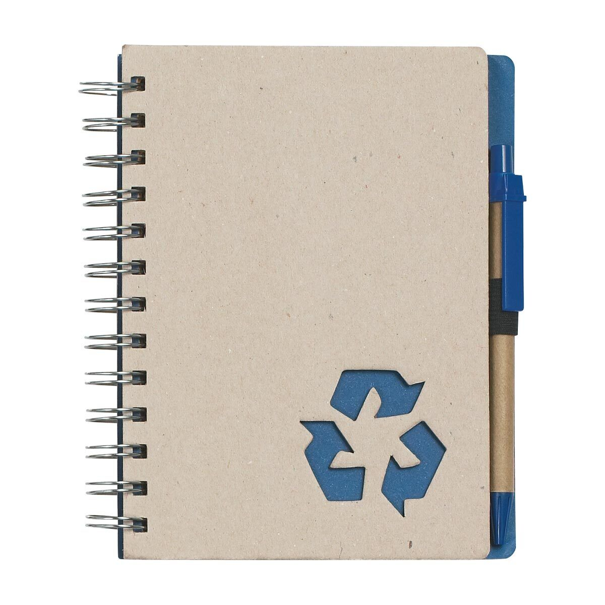 "Eco-Rich 5"" X 7"" Spiral Notebook & Pen"