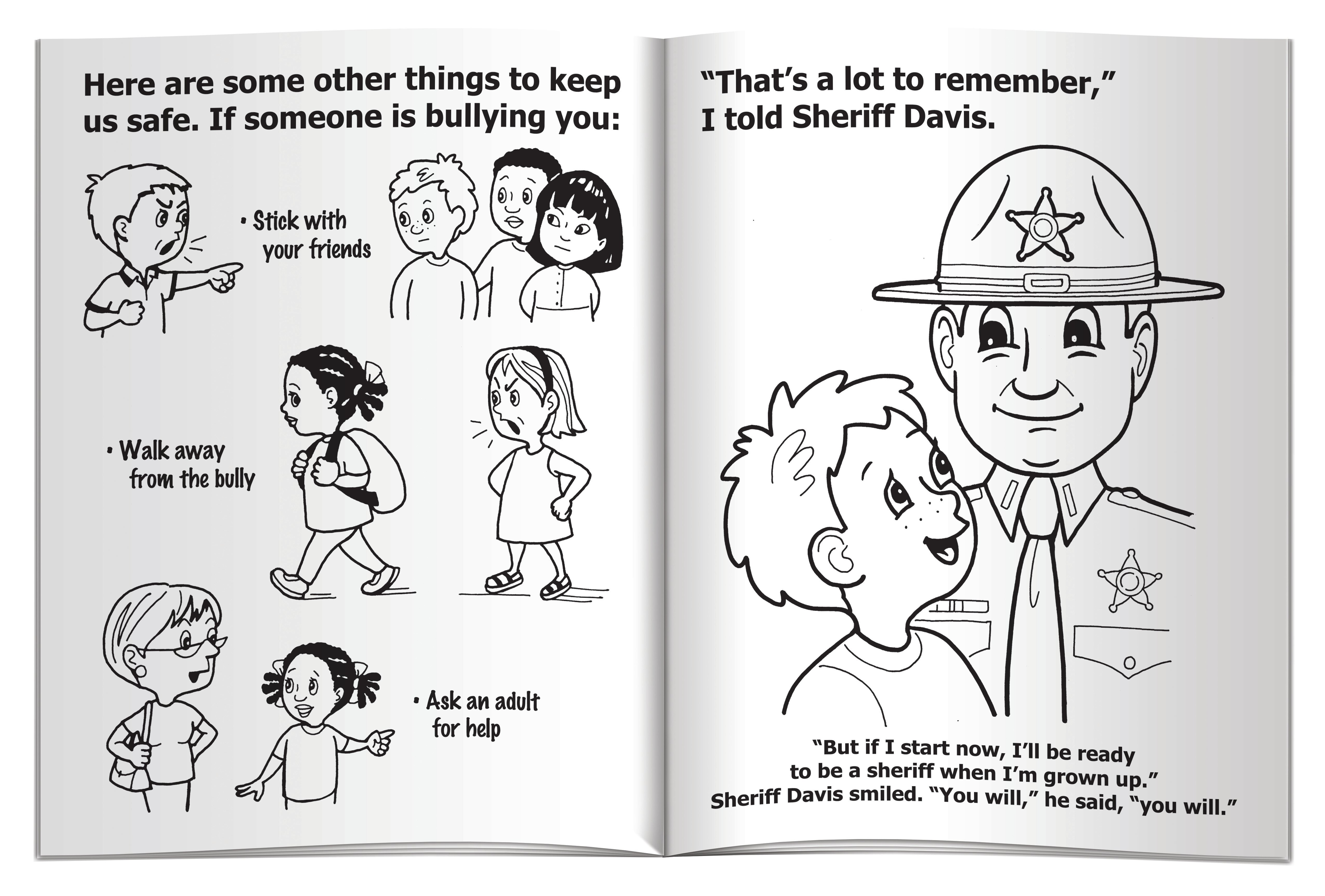 My Visit with a Sheriff Coloring & Activity Book
