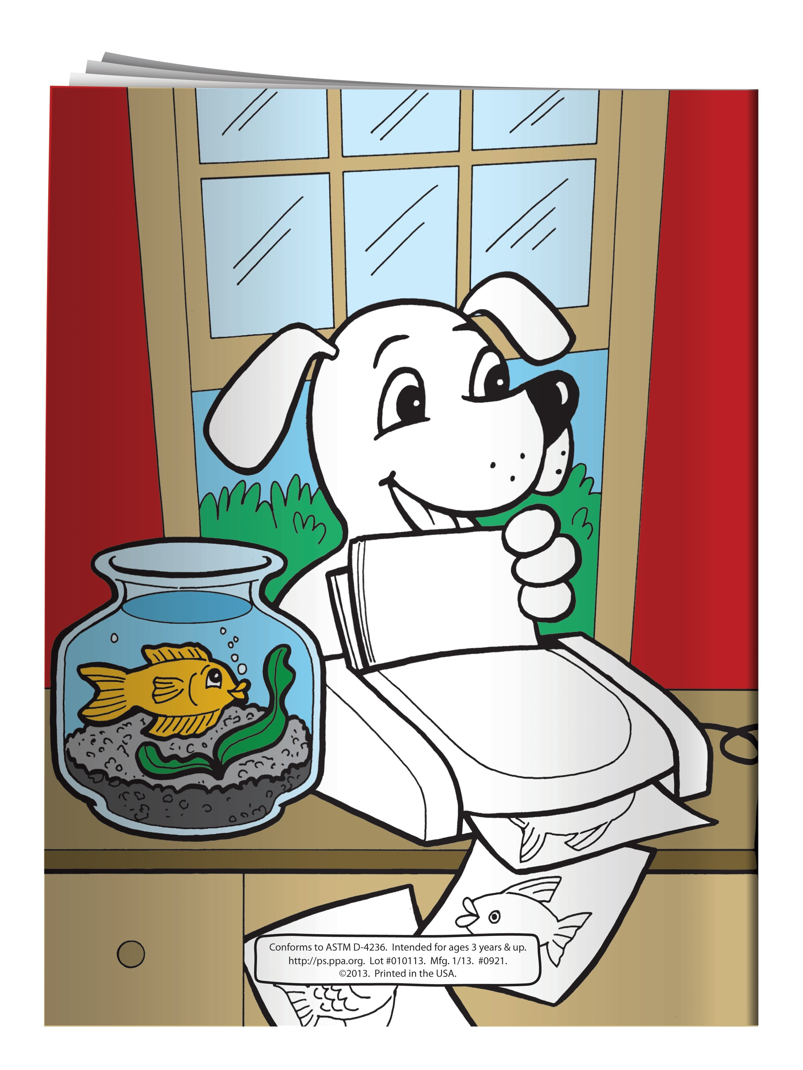 Webby the Internet Safety Cat Coloring & Activity Book