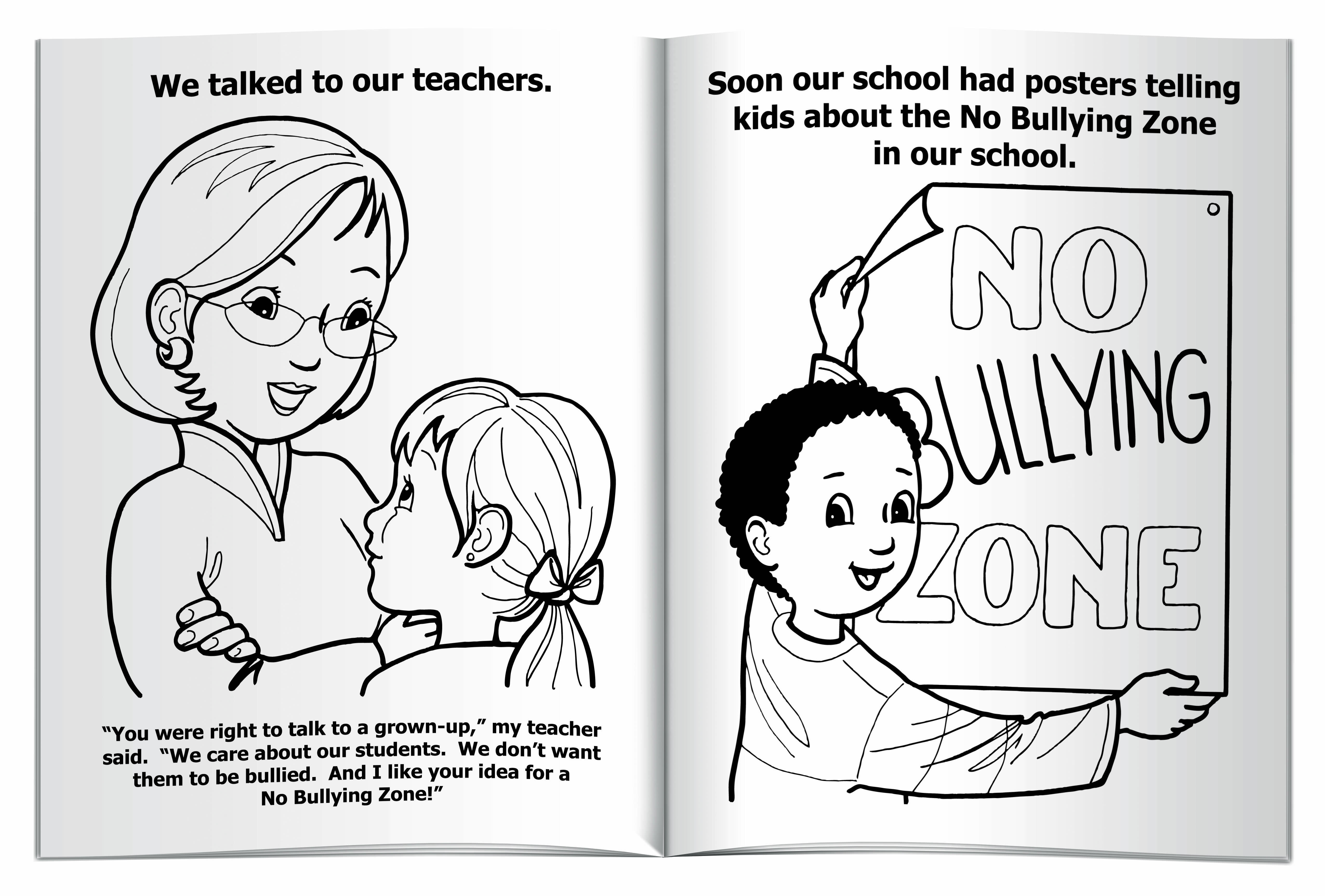 How to Deal with Bullying Coloring & Activity Book
